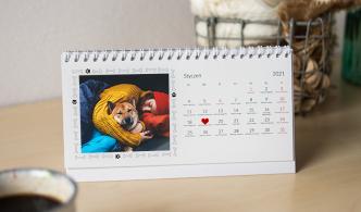 Fotokalendarz biurkowy